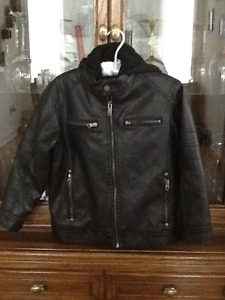 Boys S Leather-Looking Jacket