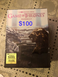Game of Thrones Season 1-7 DVD FREE DELIVERY