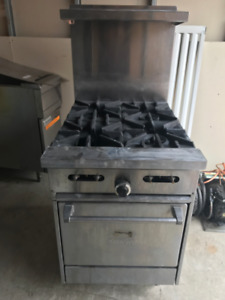 Sunfire Industrial Restaurant Stove Grill Natural Gas