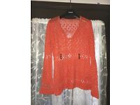 Size 12 crocheted top