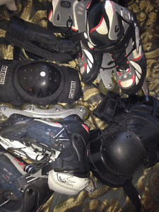 Near new condition Roller blade