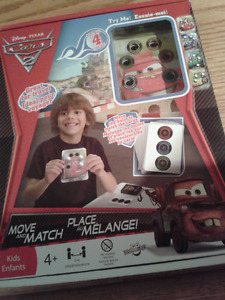 Disney Cars 2 Move and Match Game