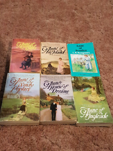 Anne of Green Gables books 6pk (must take all)