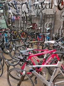 Big brand Road Bikes for sale. Specialized, Trek, Cube, Bianchi, Mekk
