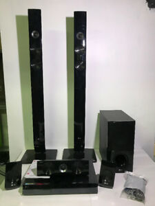 AS-IS LG BH7420P 1100W CD/DVD 5.1CH HOME THEATER SYSTEM - MNX