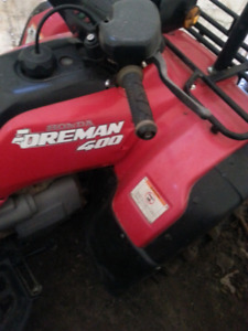 1997 Honda foreman 400 4x4 want to trade for bigger auto atv