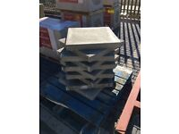 Concrete slabs - grey - 600 x 600 x 63mm - reinforced