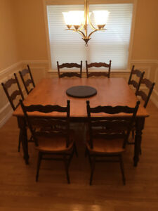 Dining Table, hardwood, Canadel brand, square or rectangular