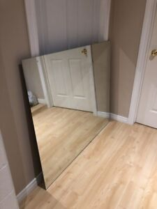 "Huge mirror 41"" x48"" solid sheet"