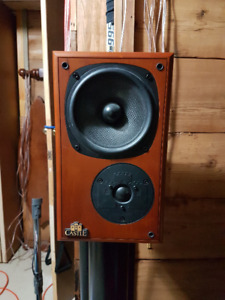 castle bookshelf speakers richmond classic 3i - 350