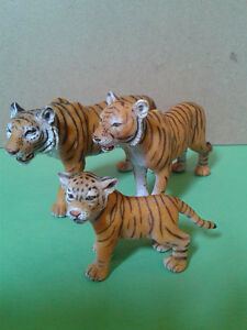 Schleich Toy Collection - Asian Tiger Family