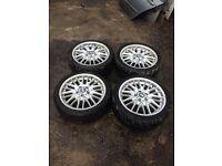 Bmw E46 M Sport MV1 18 Inch Alloy Wheels
