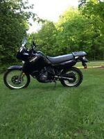 $4450 OR TRADE 2009 KAWASAKI KLR 650 DUAL SPORT