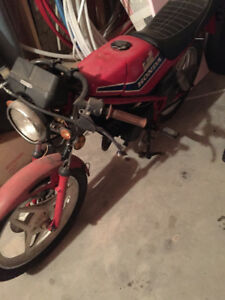 Honda MB 50 two stroke road bike