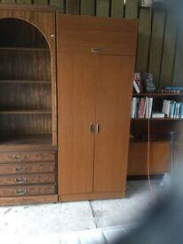 A single wardrobe.