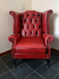 Chesterfield Wing back Armchair