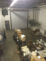 Warehouse Space Available March 1st