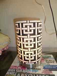 Black/White Night Lamp $15 OBO