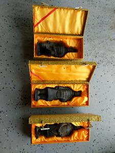 Terracotta warrior statues