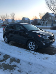 2015 KIA SPORTAGE - LX with heated seat; ACCIDENT FREE