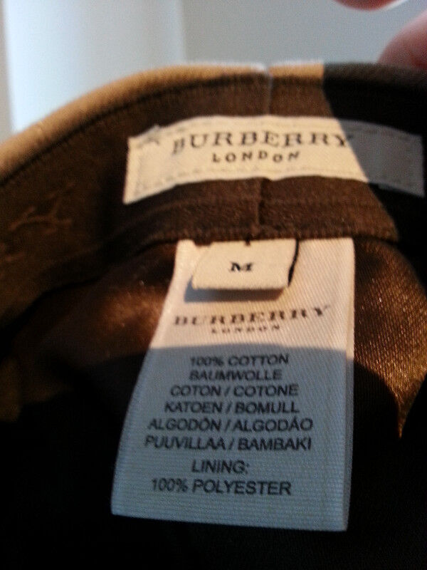 7d42072db5c Description. Authentic Burberry Nova Check quilted newsboy cap ...