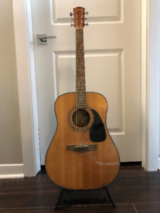 LIGHTLY USED GUITAR/BAG/TUNER/STAND - $200