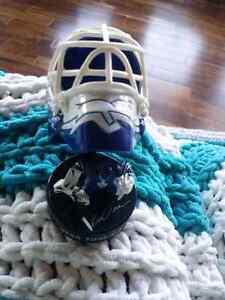 2009 NHL Toronto Maple Leafs Goalie Mask Regina Regina Area image 6