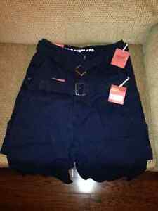2 Pair Navy Cargo Shorts - BRAND NEW With Tags!!