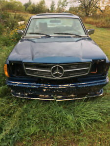 1975 Mercedes 280CE Project