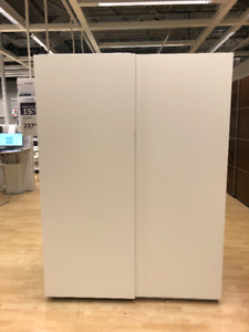 Porte coulissante Ikea Hasvik Ultra-Blanc