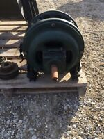 Old fashioned still working 3 phase 550 electric motor