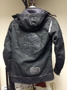 unisex motorcycle jacket- with armor