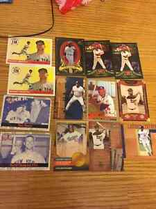 17 Great Insert Cards - Aaron, Robinson, Mantle, Gwynn...