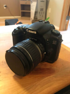 Canon Digital Camera DSLR D20 18-55mm