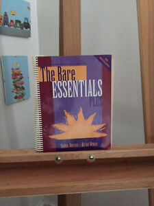 Textbook - The Bare ESSENTIALS PLUS