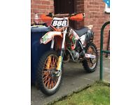 Ktm and yz 125 2004