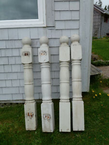 turned posts for outside railing
