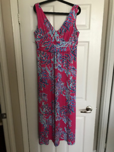 WOMENS XL LILLY PULITZER DRESS REG 450$