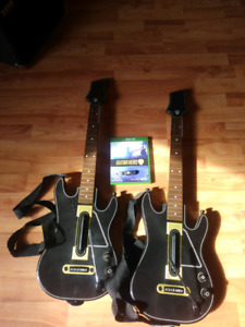 Xbox one guitar hero live with guitars