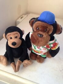 Collectable pg tips chimp BEANIE BLACK MONKEY
