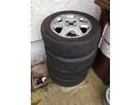 Vauxhall 4x100 alloys