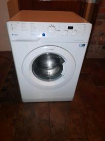 6 month old top of range indesit washing machine
