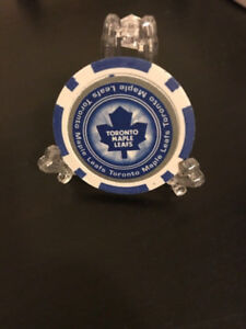 Toronto Maple Leafs Poker Chip