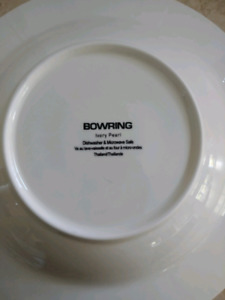 Bowring Ivory Pearl 12 Piece Setting Plus