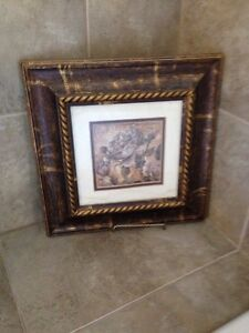 Framed rose picture with stand  Windsor Region Ontario image 1