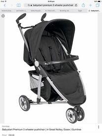 Babystart premium 3 wheel pushchair from Argos