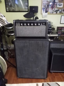 Vintage Traynor Bass Master Amp and Cab