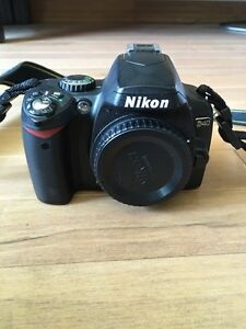 Nikon D40 with two lens