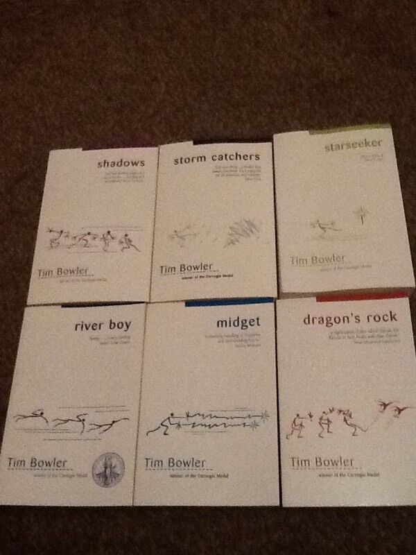 Tim Bowler Booksin Hartley, KentGumtree - The books are all brand new.Comes from a smoke free home