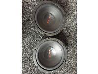 8 inch 2 speaker subwoofer